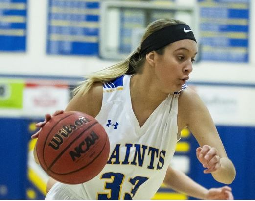 Former NJCAA and NCAA athlete Amber Smith moves to the sidelines for Itasca Community College
