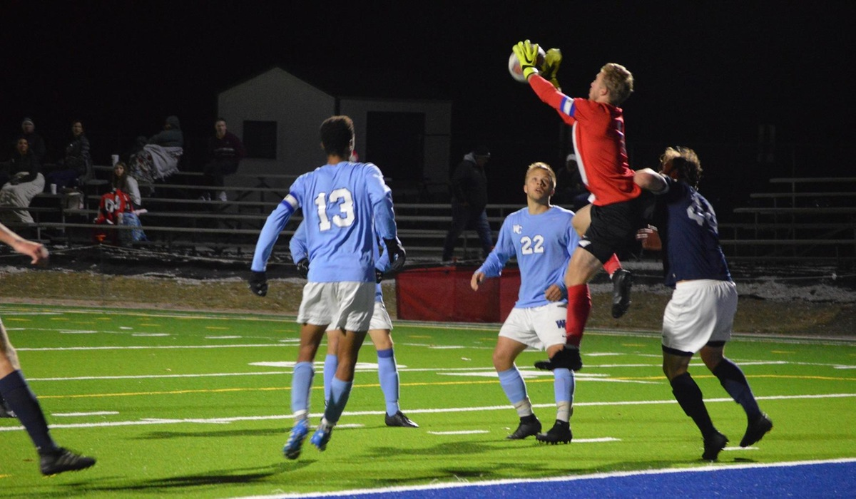 Westminster Men's Soccer Bested By Principia
