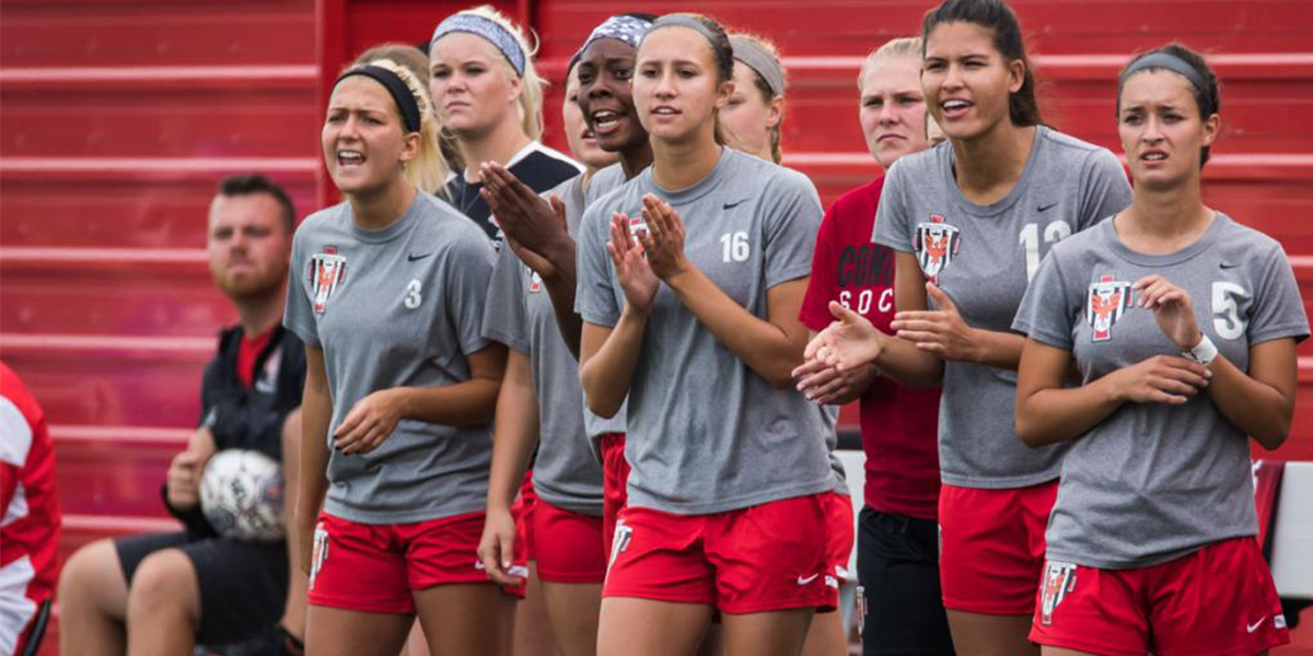 Photo for Women's soccer season halted by Saints in WHAC Tournament