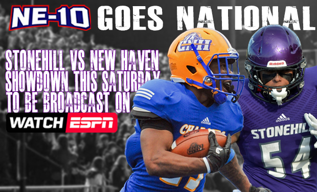 NE-10 GOES NATIONAL: Saturday's Football Game to be Broadcast on ESPN3
