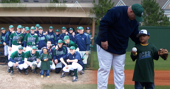 Bobcat Baseball Raises Money for Miracle League of Macon