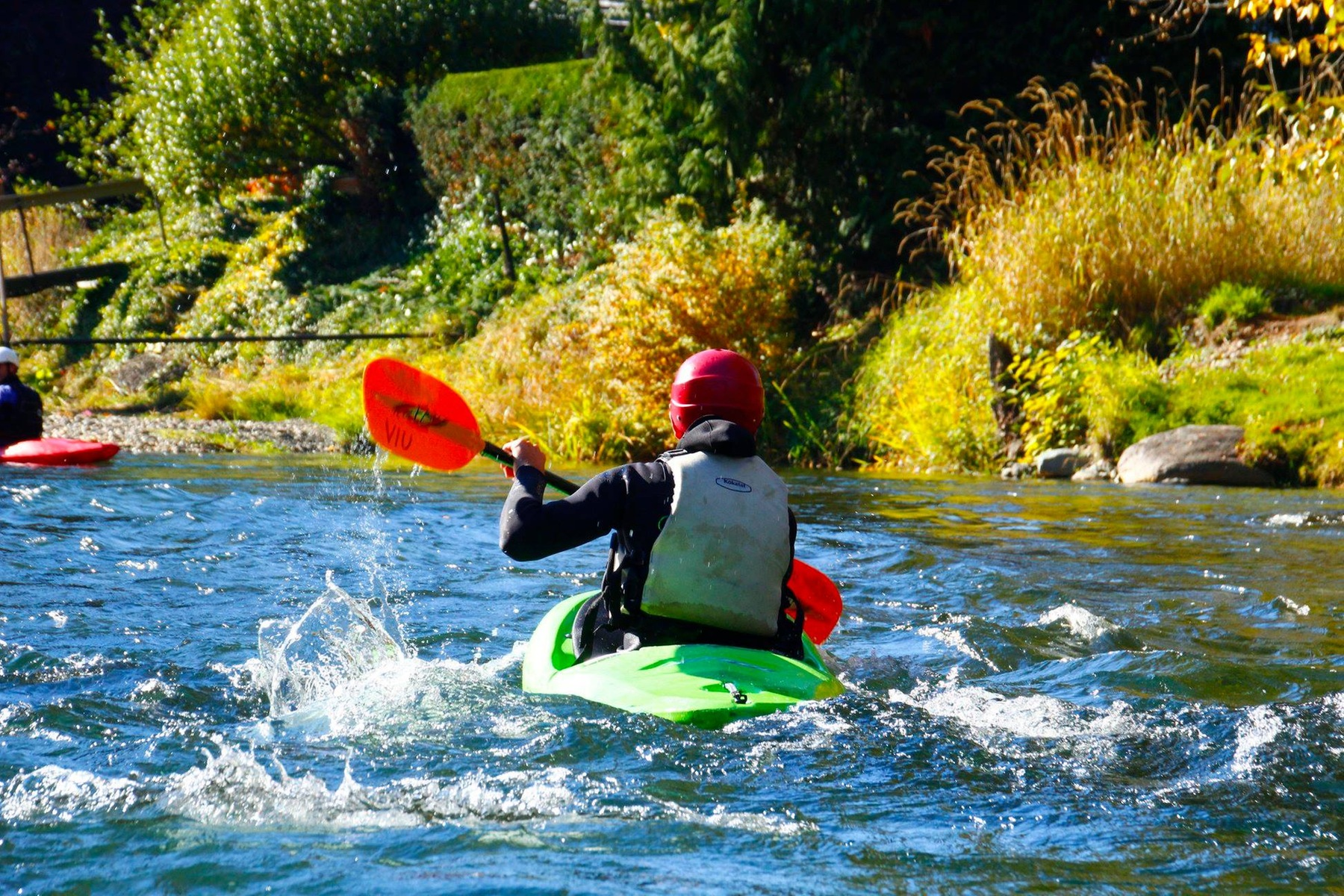 Learn to White Water Kayak VIU Outdoor Recreation