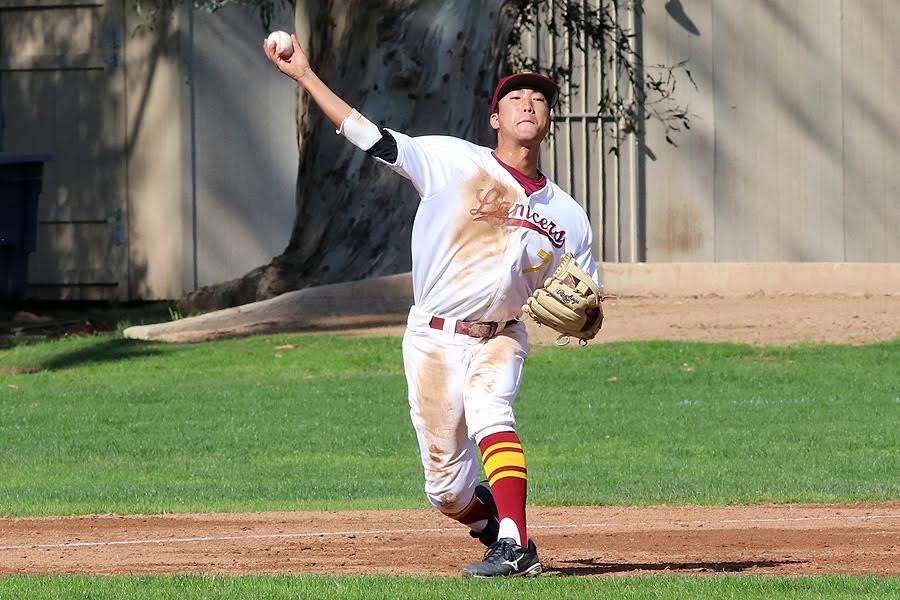 Sophomore second baseman Andres Kim has been a steady performer at the top of the lineup for the Lancers this season.