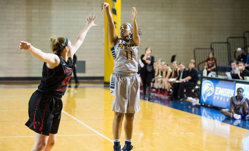 Emory Women's Basketball Wins At Guilford