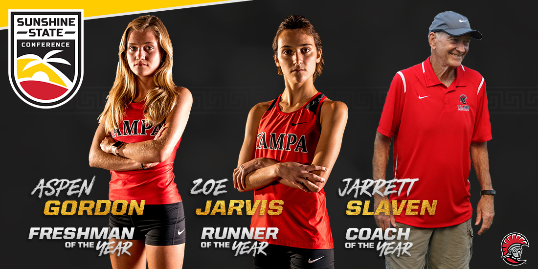 Jarvis, Gordon and Slaven Lead Way at UT Sweeps Women's Cross Country Awards