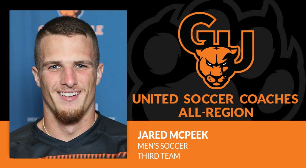 McPeek honored on United Soccer Coaches all-region team