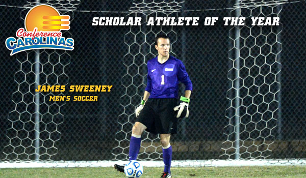 Coker's James Sweeney Named Scholar Athlete of the Year