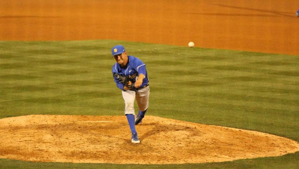 Justin Kelly delivered 4.1 solid innings of relief on Saturday (photo by Gerry Fall)
