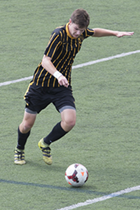 Justin Tobin, Adrian, Men's Soccer Defensive Player of the Week 9/18/17