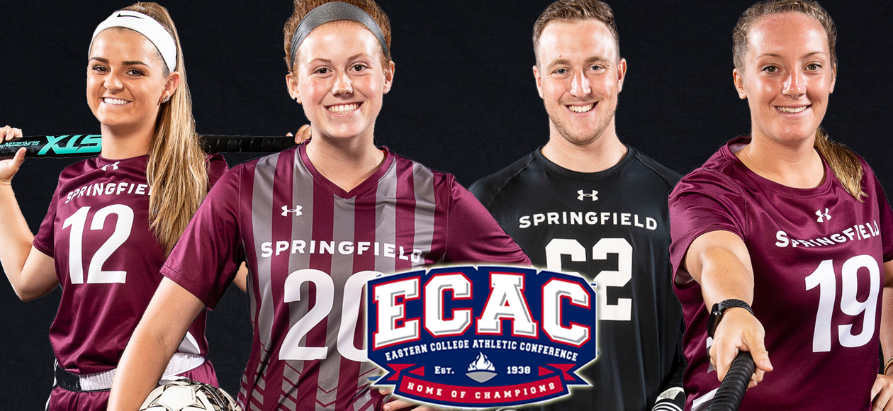 Four Student-Athletes Earn ECAC Athlete of the Month Honors