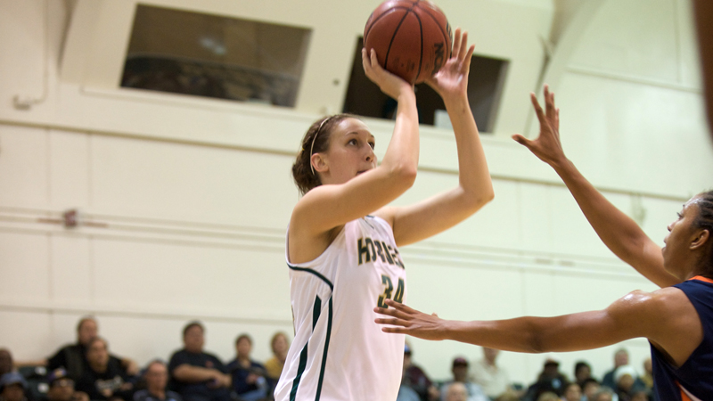 Kritscher Sets Single-Season Blocks Record but Women's Hoops Falls at EWU