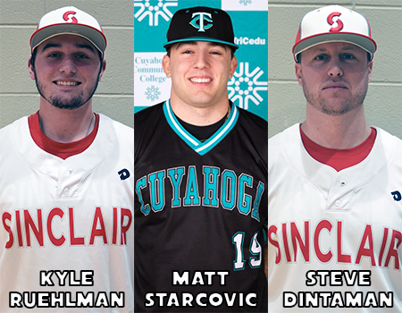 Starcovic, Ruehlman Take Home Top Honors, OCCAC Baseball Postseason Awards Announced