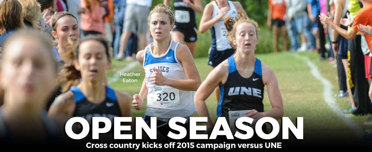 Cross Country Opens Season Against UNE