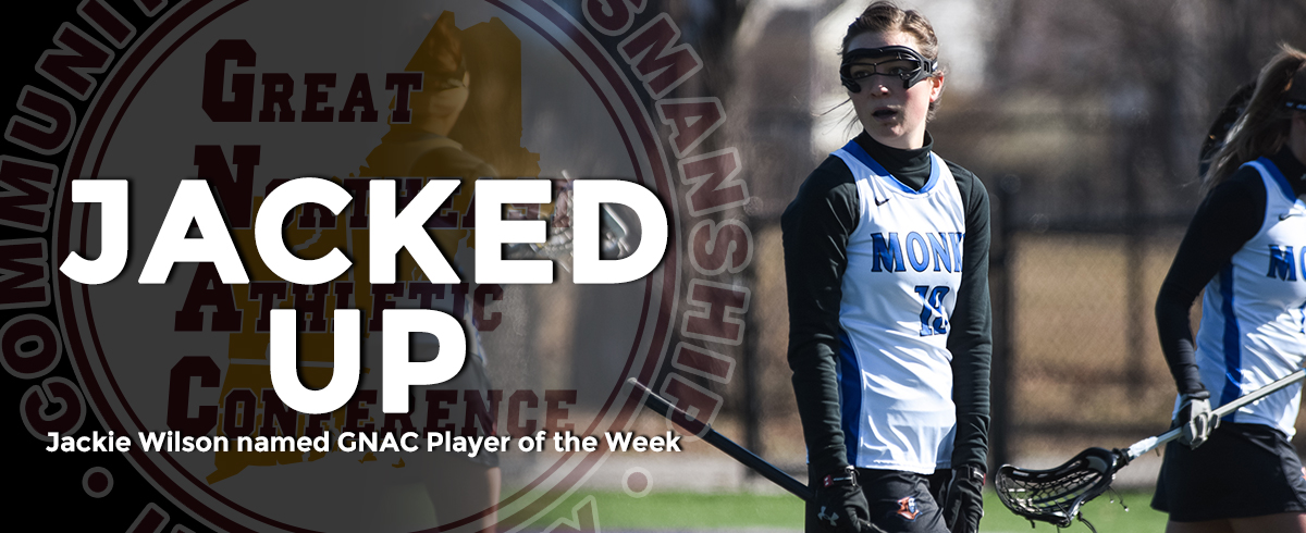 Wilson Selected as GNAC Player of the Week