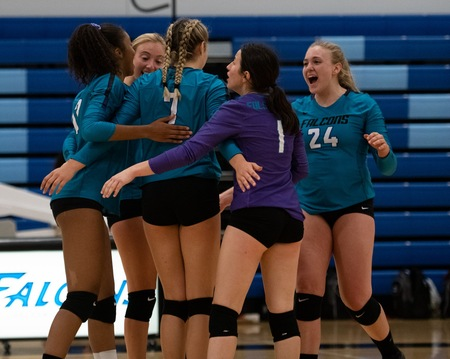 Folsom Lake, at #6, is one of five Big 8 Conference teams on this week's CCCWVCA State Top 25 Rankings.