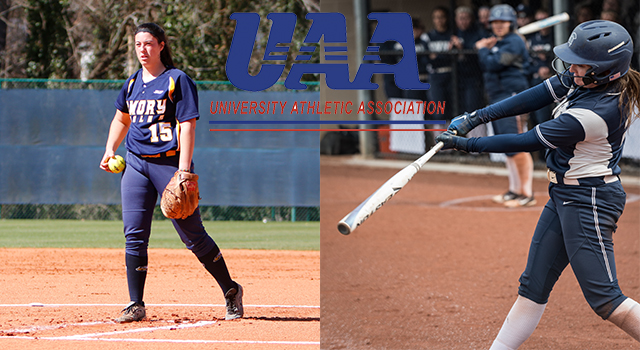 UAA Announces 2018 Softball All-Association Team; Jacqueline Spizizen of Emory and Maren Waldner of CWRU Take Top Honors