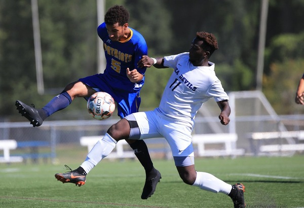 Men's Soccer Rebounds with Road Win