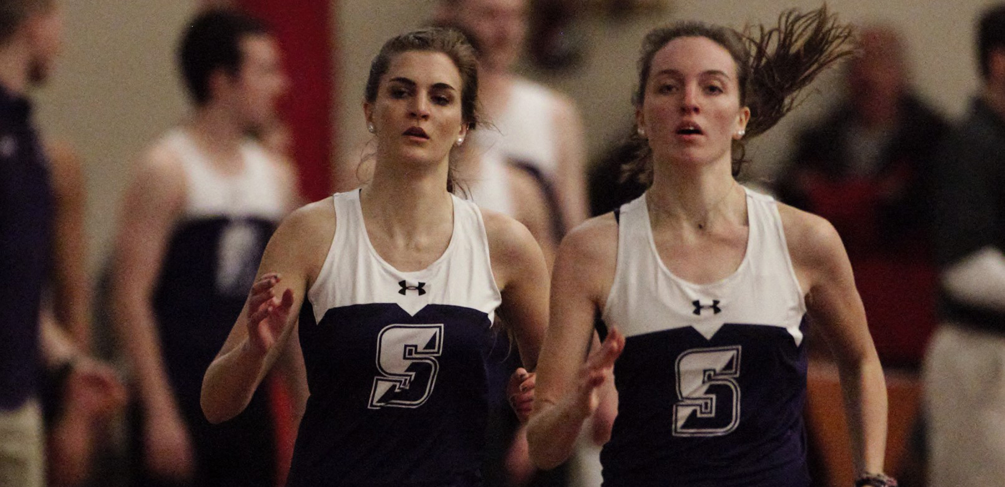 Emily Way, Emily de Onis, and the Royals have been picked sixth in the 2018-19 Landmark Conference indoor preseason poll.