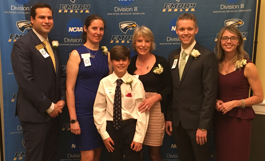Emory Sports Hall Of Fame Inducts 2018 Class