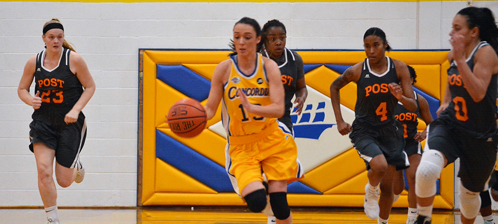 Women's Basketball Edged by CACC Foe Bloomfield, 55-52