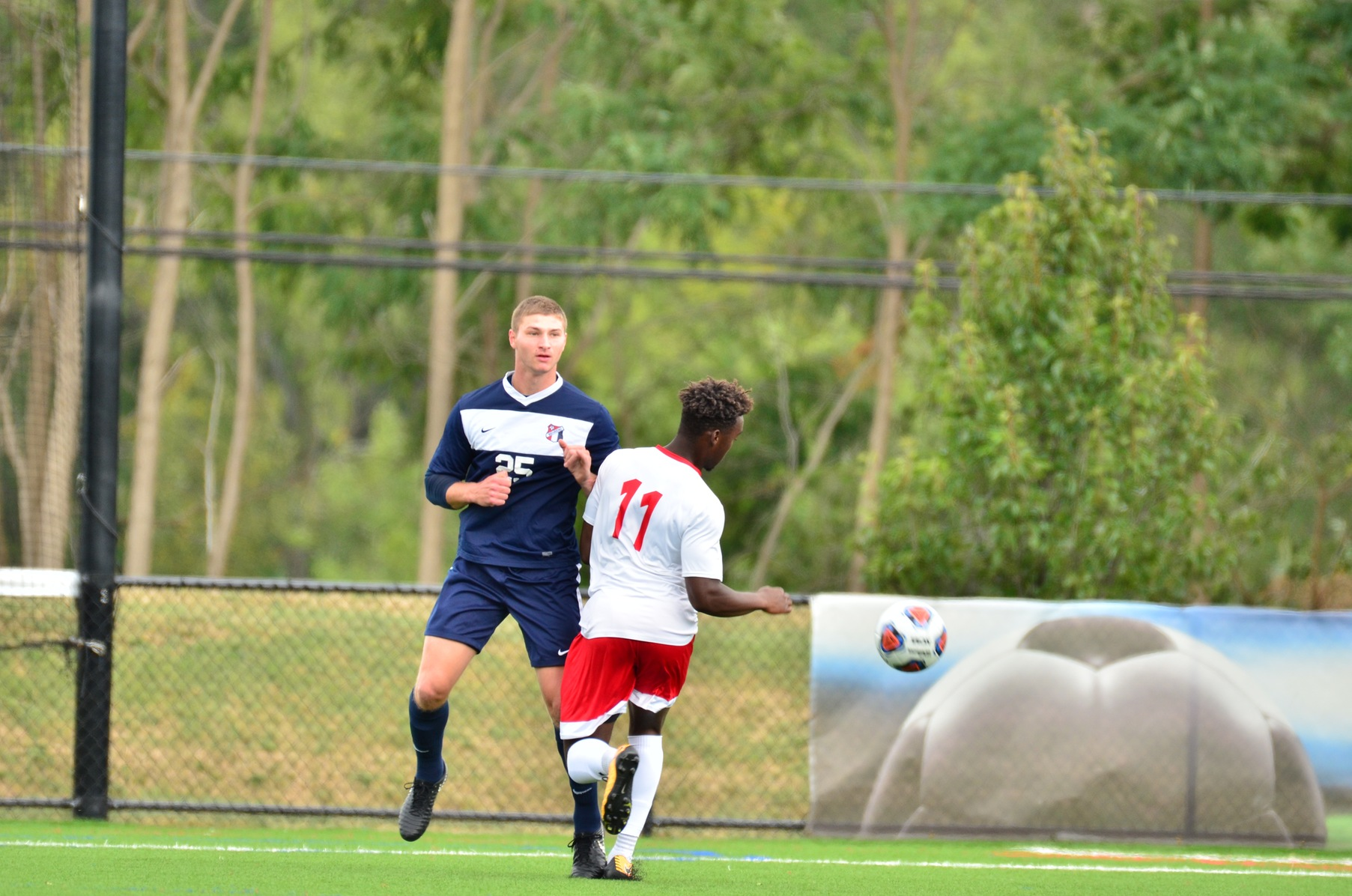 Men's Soccer Team Rallies in Second Half