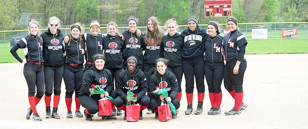 Photo for Lady Red Hawks End Season On The Road
