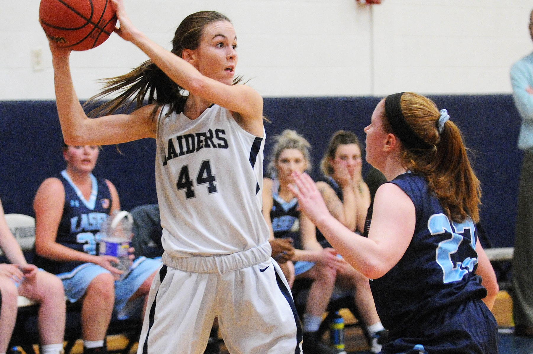 Women's Basketball: Raiders top Lasell, 56-52