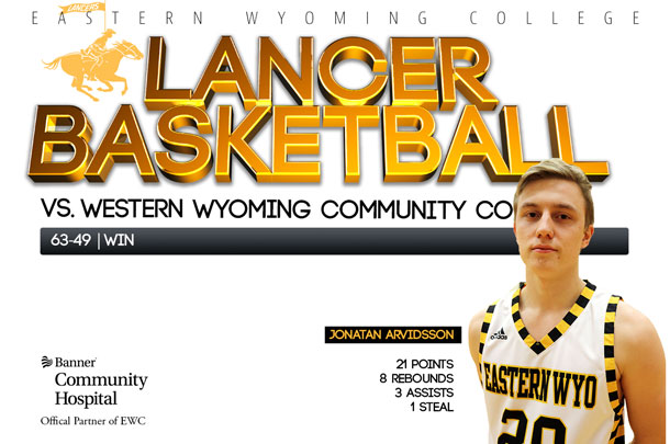 Eastern Wyoming College Lancer Basketball team vs. Western Wyoming Community College Basketball team
