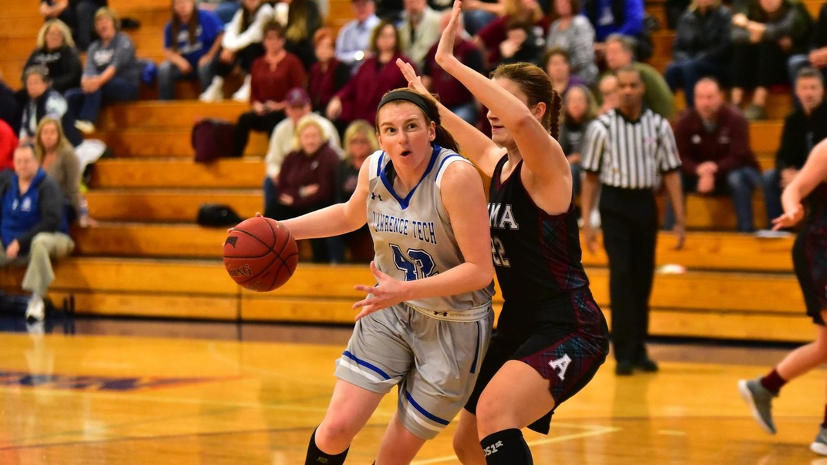 Women's Basketball Dominates Alma Scots with 70-44 Win at Home