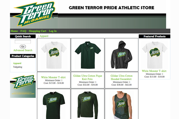 Green Terror Store now open