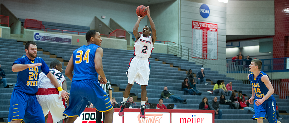 Cardinals Fall to GLIAC-Leading Warriors, 90-56