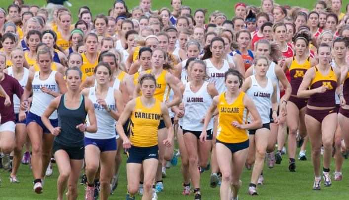 Women's Cross Country Third at Home Invite
