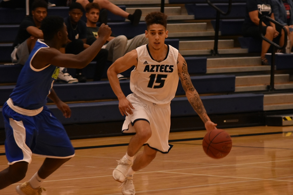 Aztecs men's basketball fall in overtime vs. Chandler-Gilbert CC