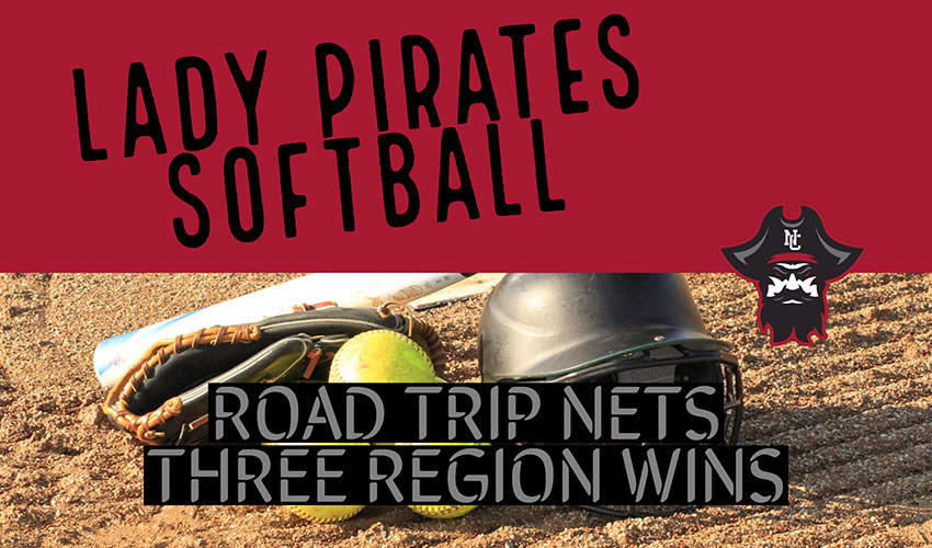 Lady Pirate Win 3 of 4 Region Road Games