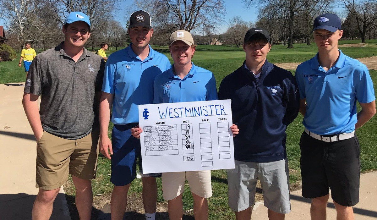 Matheney Finishes Third; Westminster Men's Golf Sixth at McNaughton Invite