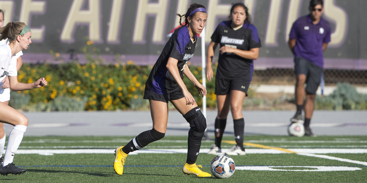 Whittier Plays La Verne to a 1-1 Draw