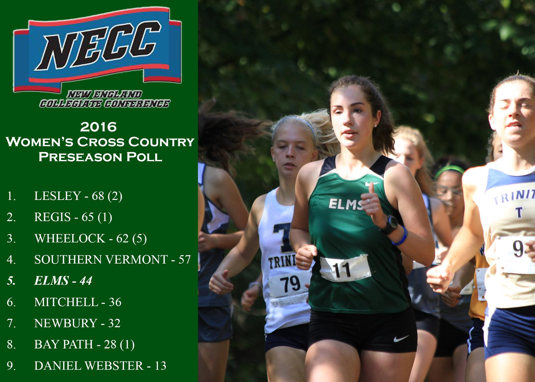 Women's Cross Country Selected Fifth in Preseason Poll