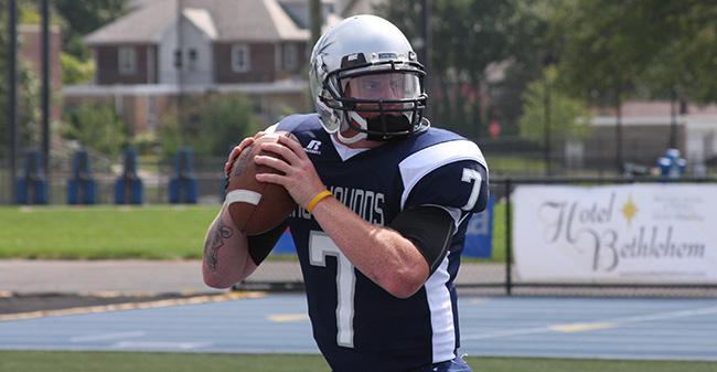 Football Runs Past Mcdaniel 21 7 Moravian College