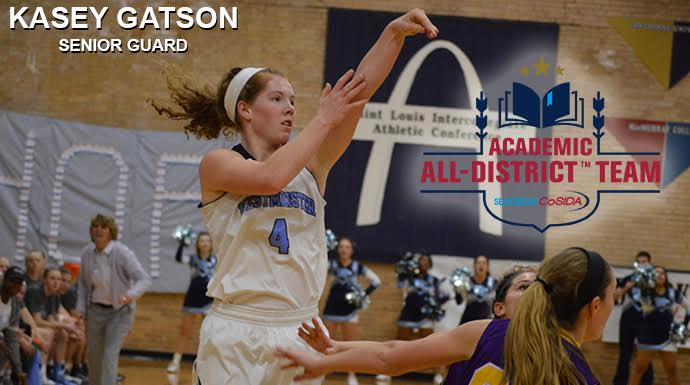 Westminster's Gatson Named CoSIDA Academic All-District