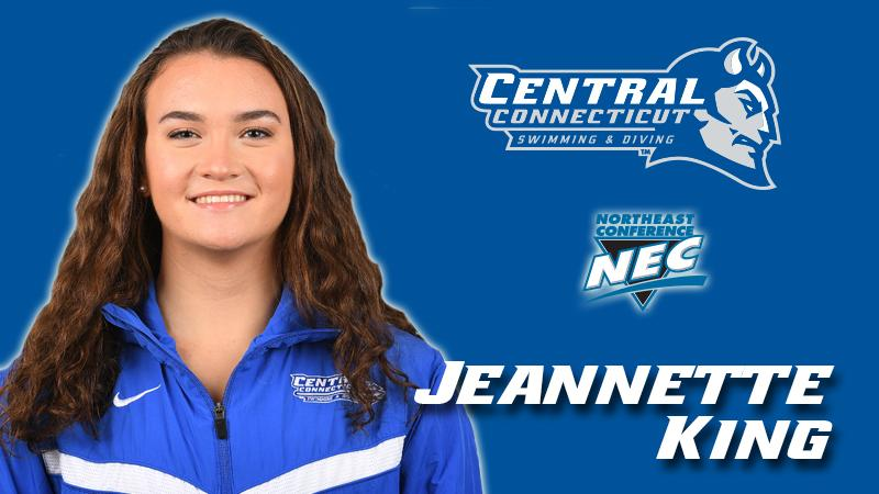 Jeannette King Named NEC Rookie  of the Week