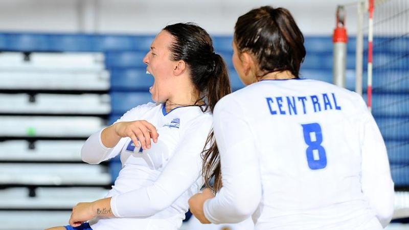 Volleyball Picked Third in NEC Poll