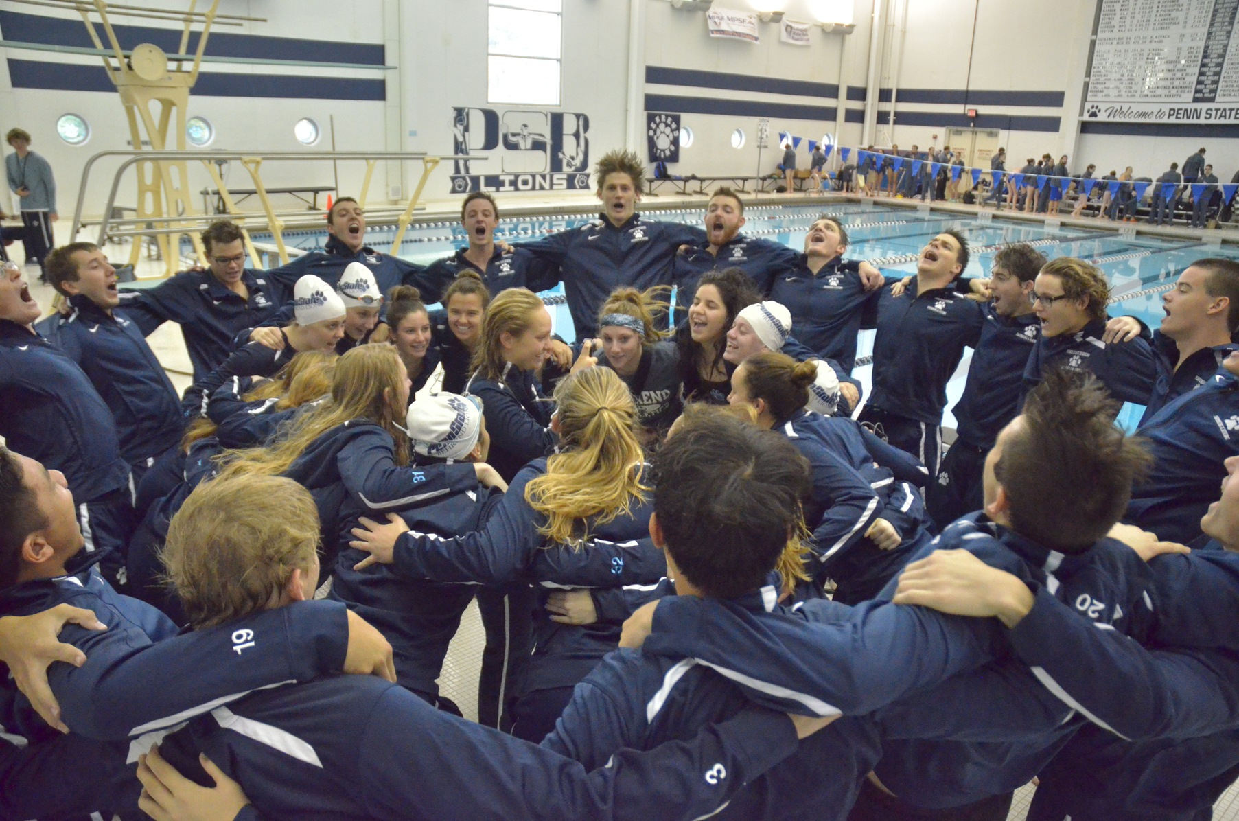 Swimming and Diving Takes on Penn State Altoona for Senior Day