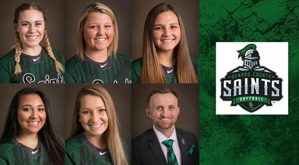 Lady Saints softball team honored with Jayhawk West awards