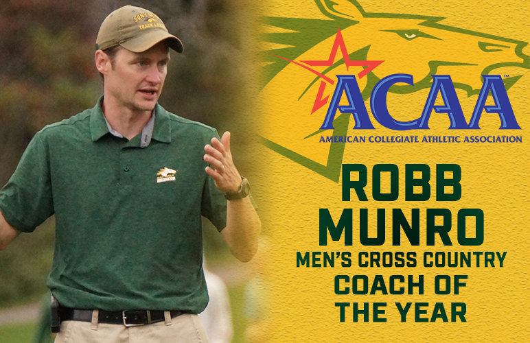 Robb Munro Named ACAA Men's Coach of the Year