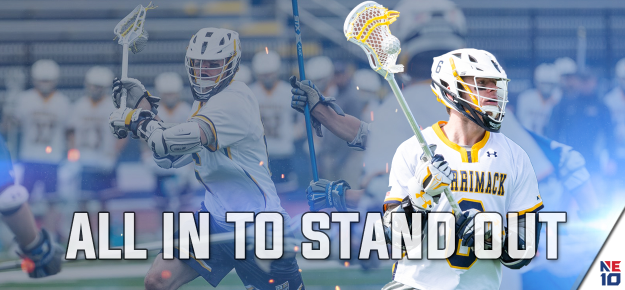 Merrimack's Bertrand Takes Home Player of the Year, as NE10 Releases Men's Lacrosse Awards