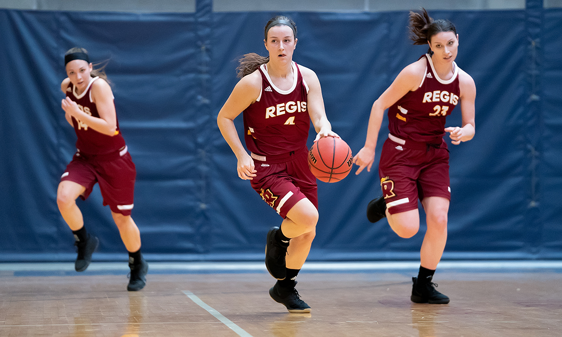 Regis Women's Hoop Defeats Becker