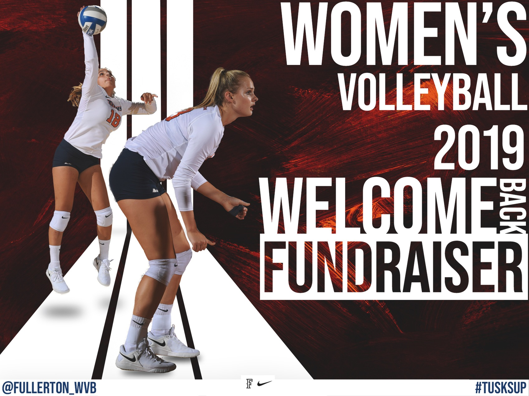 Women's Volleyball to Host Annual Welcome Back Fundraiser on Aug. 17