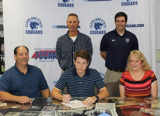 CSCC Baseball Signs Ryan Wilson