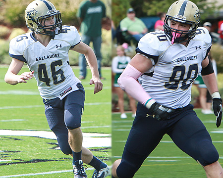 Nicholas Elstad and Adham Talaat named to CoSIDA Football Academic All-District first team