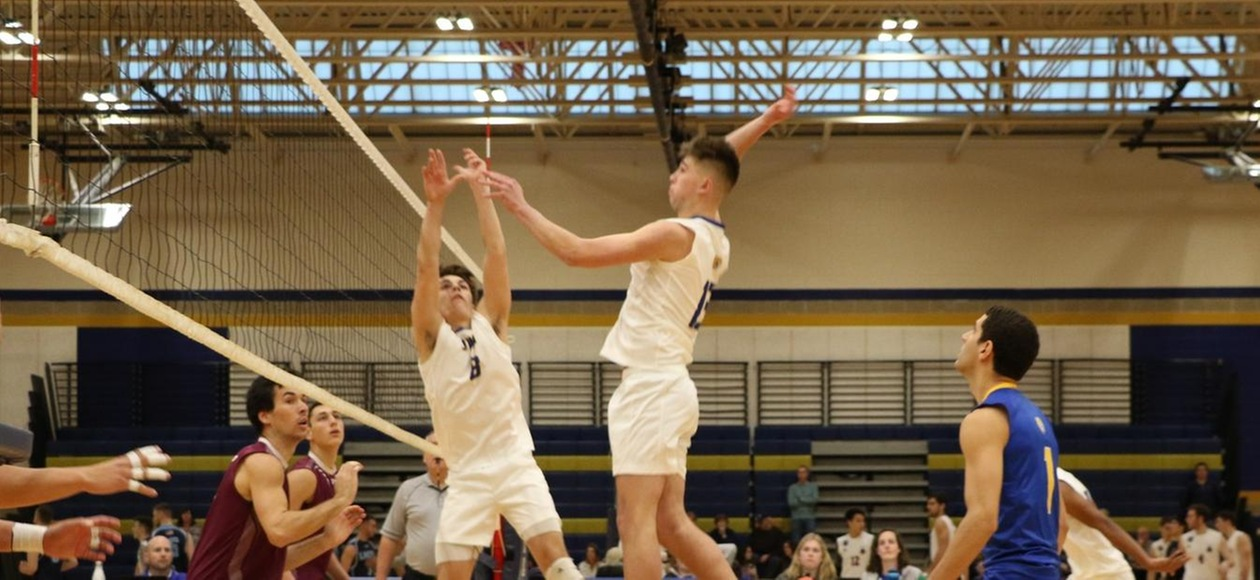 Men's Volleyball Sweeps Emerson 3-0